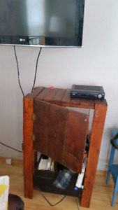 TV stand or cabinet brown