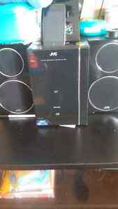 Jvc radio/iPod player.