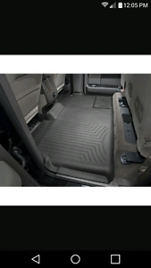 Weathertech back seat floor cover Ford F150