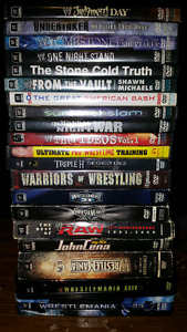 WWE Wrestlemania DVD Collection