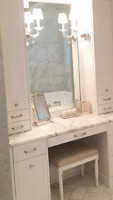 Custom built-ins, cabinetry, and trim work