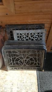 Old furnace vents
