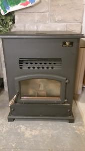 "Wood pellet stove - Breckwell Big ""E"""