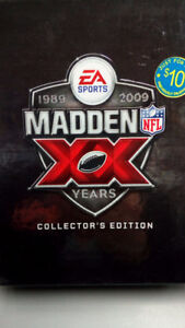 Madden 09 20-year collector's  edition