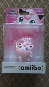 Jigglypuff amiibo - new sealed unopened