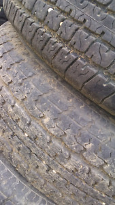 Four ued st225/75R15