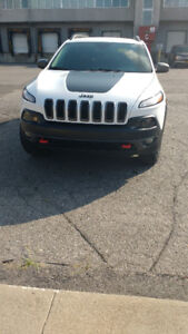 **Jeep Cherokee 2016** available & clean condition, 2.4L