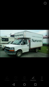 Chevrolet express 2012 cube 12 pied