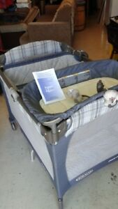 Graco PlayPen, Basinet and Change Table