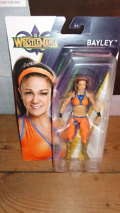 WRESTLEMANIA BAYLEY ACTION FIGURE NEW IN SEALED PACKAGE WWE DOLL