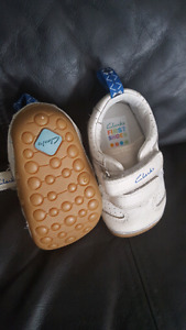 Clark's first shoes size 2
