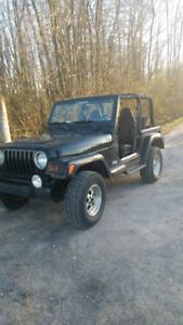 Jeep tj 4 litre automatique