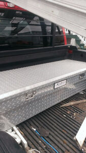 Diamond Plate Deezee Truck Toolbox (for small pickup)