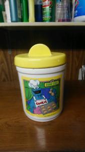 Sesame street cookie jar