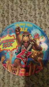 THE MANY FACES OF ALF: MELMAC ROCK FLEXI-DISC RECORD BURGER KING