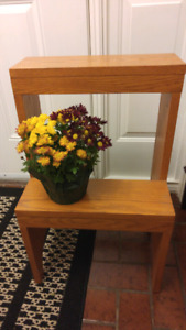 Solid Wood Plant Stand for Sale