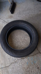 Continental tire (summer) 225/65/R16 98T used up summer tires