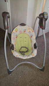 GRACO* Winnie the pooh swing- Excellent Condition!!! Kitchener / Waterloo Kitchener Area image 1