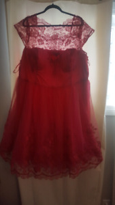 Pink plus Size prom dress! Brand new with tags!