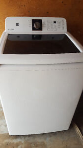 KENMORE washer with glass lid 250.00, new condition