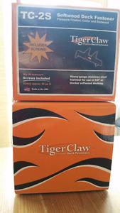 Attache Tiger Claw TC-2 Inox (Hidden Deck Fasteners) - 2 boîtes