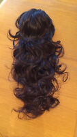 """24"""" claw clip ponytail hair extension"""