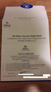 Gift Certificate for 2 nights King Suite -- buy for $100