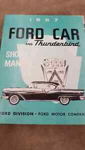 1957 FORD SHOP MANUAL (REPRODUCTION)