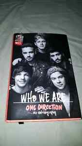 """Who We Are"" One Direction autobiography  with 1D necklace"