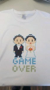 Men's Game Over Tshirst