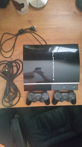 PS3 (All hookups) / 2 Controllers and 19 games