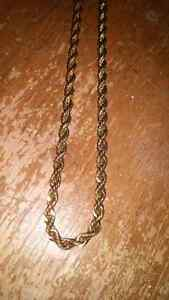 Gold plated chain  Kitchener / Waterloo Kitchener Area image 1