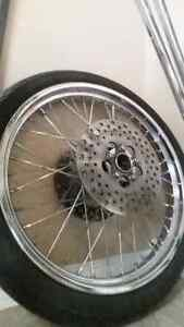 """21"""" dual disk front wheel"""