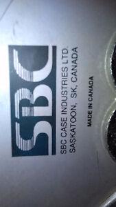 """SBC aluminium  hard / ROCK SOLID  case 27""""L x 14.5""""W x 11.5""""H"""