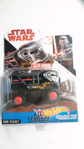 HOT WHEELS STAR WARS KYLO REN ALL TERRAIN CHARACTER CARS