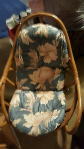 Rattan chair rocker Kitchener / Waterloo Kitchener Area image 2