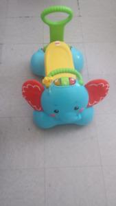 trotteur/sauteur éléphant