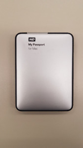 WD my passport for mac 1TB usb 3.0 - External Hard Drive