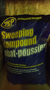 Floor Sweep Compound 50lb bag Edmonton Edmonton Area image 2