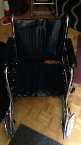 Manual Wheel Chair. Used a couple of times.