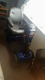 Celebrity pride scooter in full working order can b seen working 250 ono