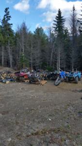 4 wheeler and dirtbike parts. Bikes are listed in description
