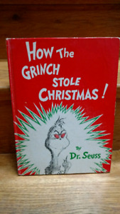 1957 edition of How the Grinch Stole Christmas