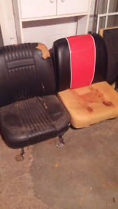 MGB bucket seats 1960s to 1970s
