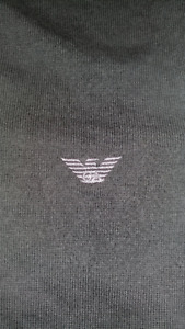 Genuine Emporio Armani medium grey sweater - near new