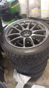Selling 18x9 +35 Drag Dr-31's with new Nitto NeoGen 555's