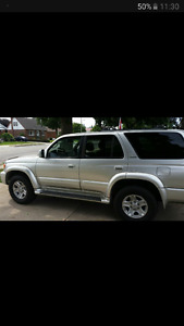2000 Toyota 4Runner VUS LIMITED