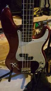 Fender squire and amp