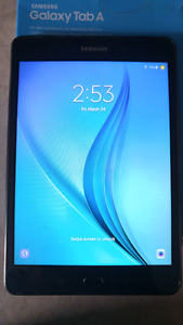 [PRICE-DROP] Samsung TAB A [8inch] 16 gigs [8/10] Cond.
