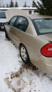 2006 Chevrolet Malibu parting out